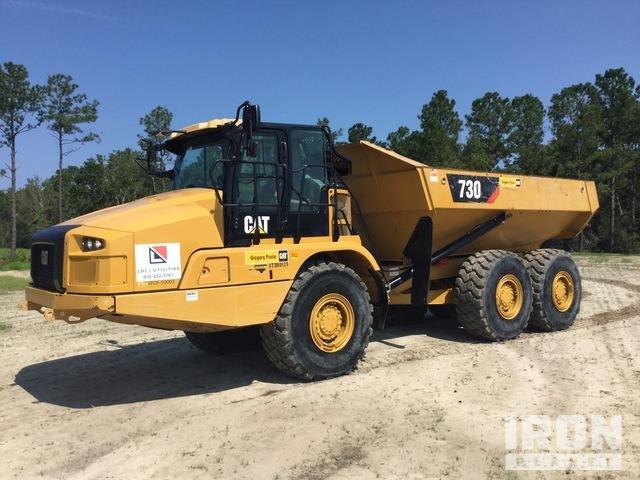 2018 Cat 730 6x6 Articulated Dump Truck, Articulated Dump Truck
