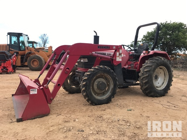 Mahindra 5530 4WD Tractor, MFWD Tractor