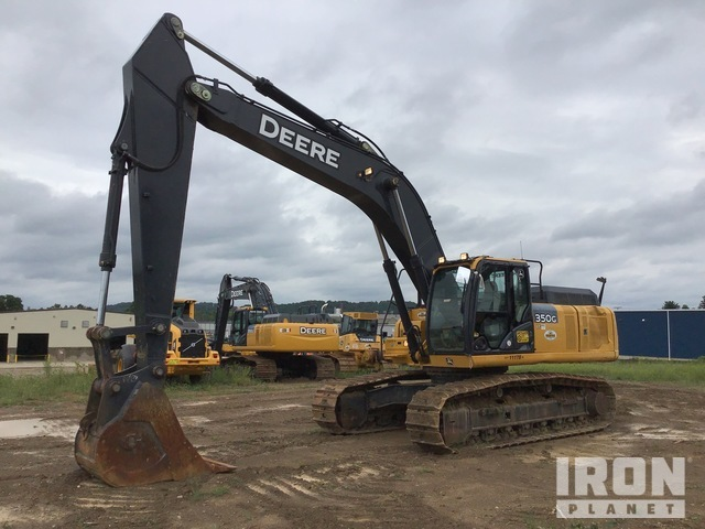 2016 John Deere 350G LC Track Excavator, Hydraulic Excavator