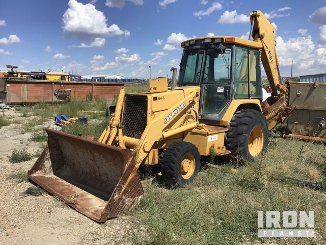 John Deere Turbo 4x4 Backhoe, Loader Backhoe
