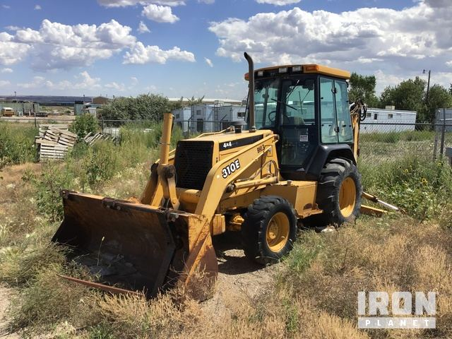 John Deere 310E 4x4 Backhoe, Loader Backhoe