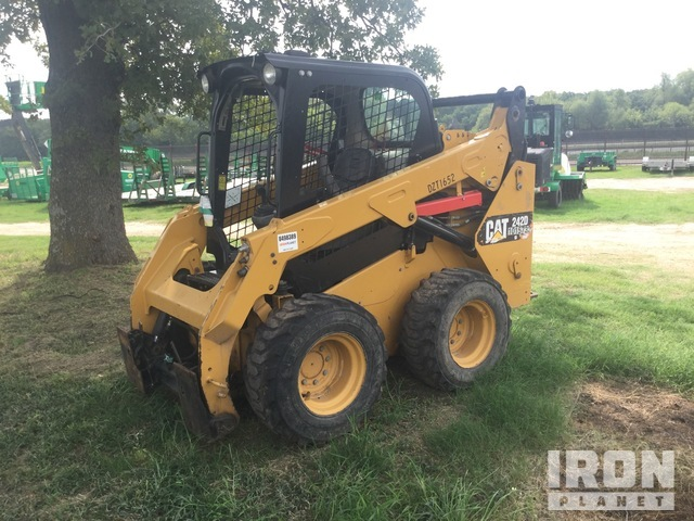 2015 (unverified) Cat 242D Skid Steer Loader, Parts/Stationary Construction-Other
