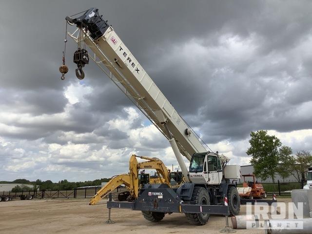 2013 Terex RT555-2 55 ton 4x4 Rough Terrain Crane, Rough Terrain Crane