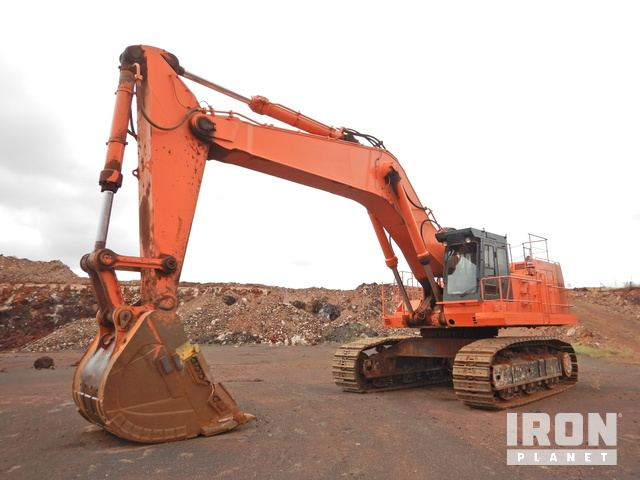 1994 Hitachi EX1100 Track Excavator, Hydraulic Excavator