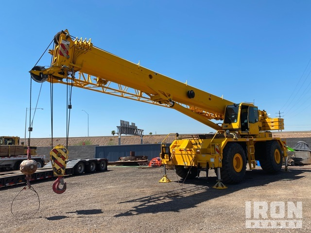2008 (unverified) Link-Belt RTC8090 Series II Rough Terrain Crane, Rough Terrain Crane