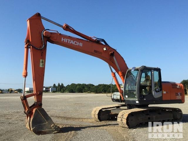 2008 Hitachi ZX200-3 Track Excavator, Hydraulic Excavator