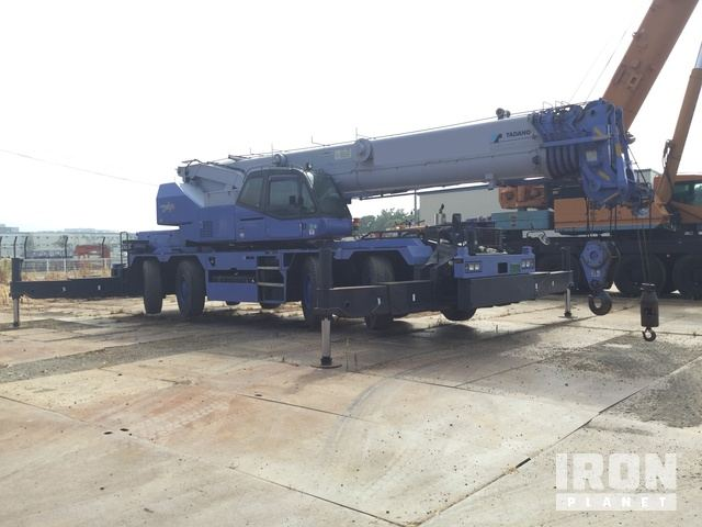 2009 年 Tadano GR600N-2 60 ton Rough Terrain Crane, Rough Terrain Crane