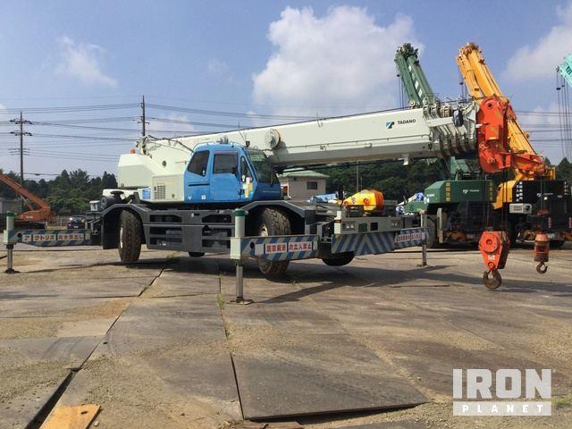 2006 年 Tadano GR600N-1 60 ton Rough Terrain Crane, Rough Terrain Crane