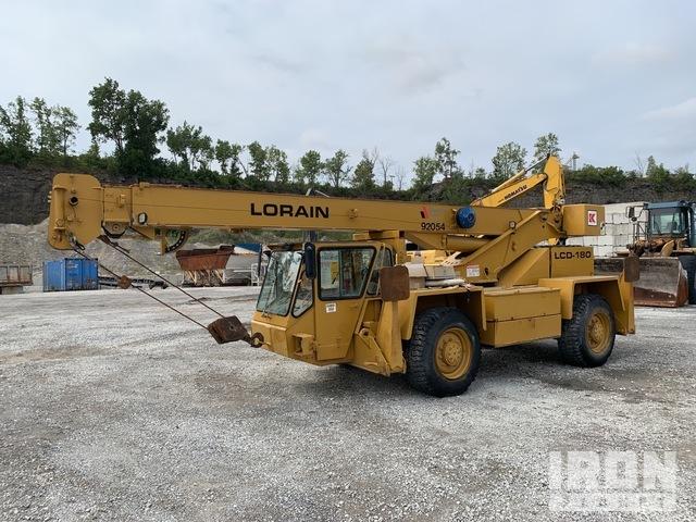 1990 Lorain LCD180 16 ton Hydraulic Truck Crane, Hydraulic Truck Crane