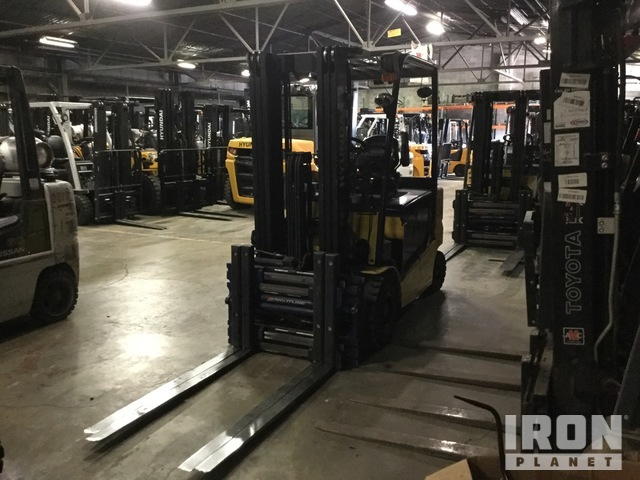 2017 (unverified) Hyundai 30BH-9 6000 lb Electric Forklift, Electric Forklift
