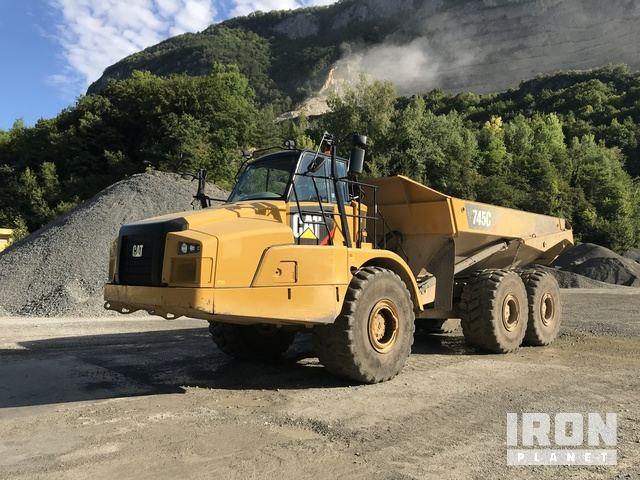 2016 Cat 745C Articulated Dump Truck, Articulated Dump Truck