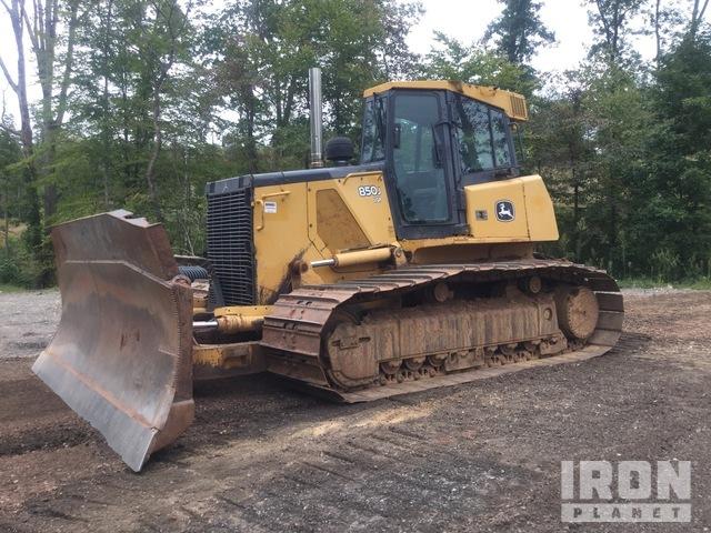 John Deere 850J LGP Crawler Dozer, Crawler Tractor