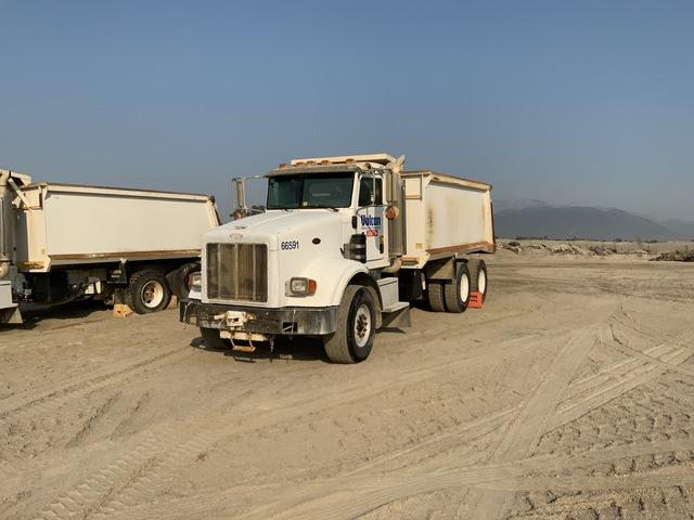 2005 Peterbilt 357 6x2 T/A Dump Truck