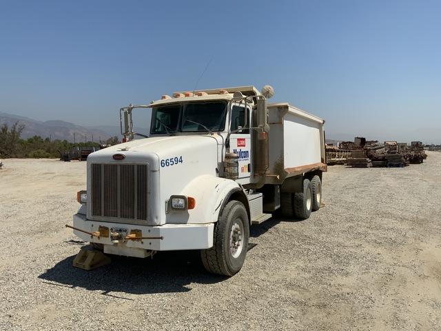 2006 Peterbilt 357 6x4 T/A Dump Truck
