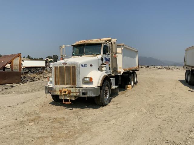 2005 Peterbilt 357 6x4 T/A Dump Truck