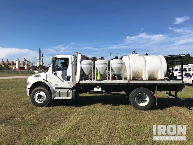 2017 Freightliner M2 106 Herbicide Spray Truck, Sprayer