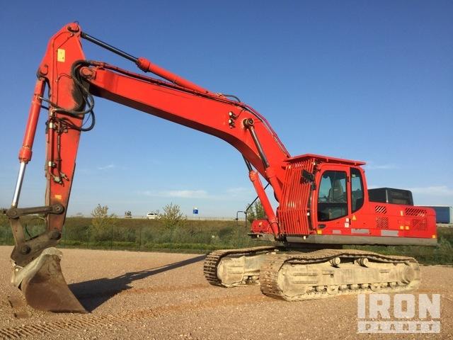 2015 Hyundai R330NLC-9A Track Excavator, Hydraulic Excavator