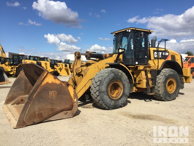 2016 Cat 972M Wheel Loader, Wheel Loader