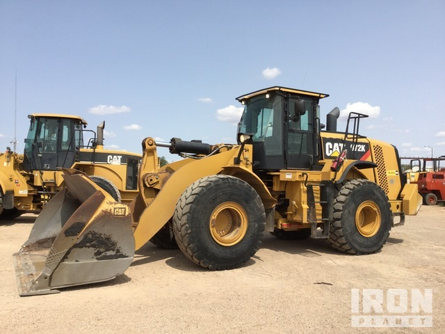 2013 (unverified) Cat 972K Wheel Loader, Wheel Loader