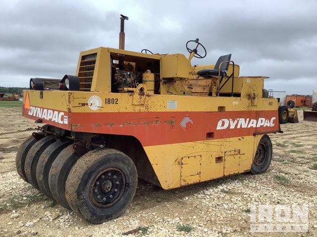 Dynapac CP27 9 Wheel Pneumatic Roller, Roller