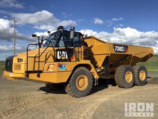 2016 Cat 730C2 6x6 Articulated Dump Truck, Articulated Dump Truck