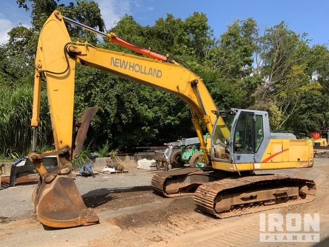 New Holland EC240 Track Excavator, Hydraulic Excavator