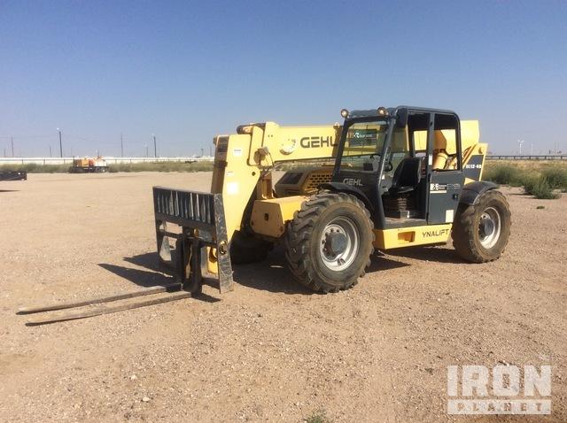 2012 Gehl DL12-40H 4x4 12000 lb Telehandler, Telescopic Forklift