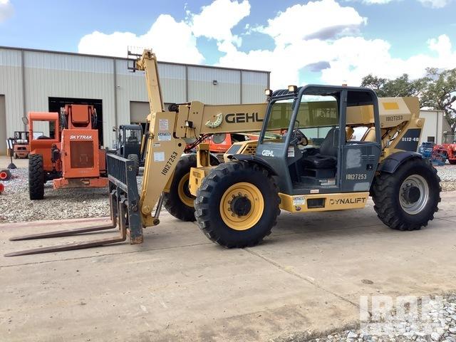 2013 Gehl DL12-40 4x4 12000 lb Telehandler, Telescopic Forklift