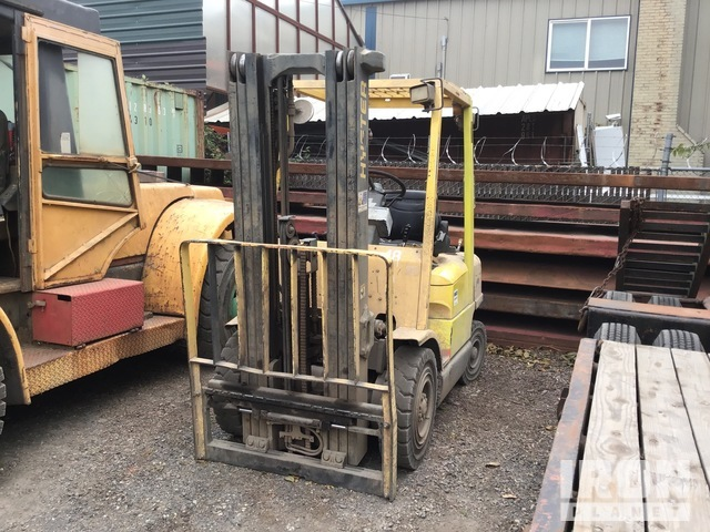 Hyster H50XM 4750 lb Pneumatic Tire Forklift, Parts/Stationary Construction-Other