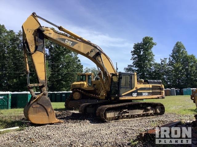 1999 Cat 345B L Track Excavator, Hydraulic Excavator