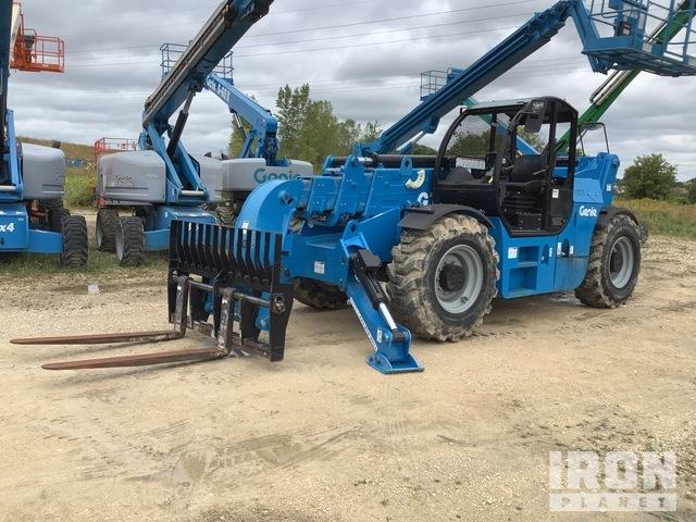2017 Genie GTH-1256 4x4x4 12000 lb Telehandler, Telescopic Forklift