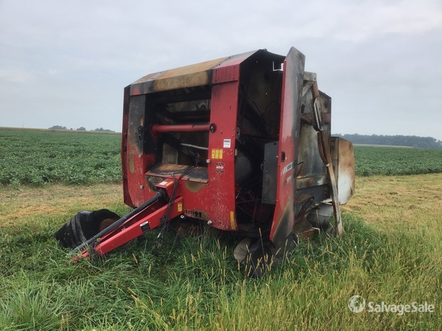 2013 (unverified) Massey Ferguson Hesston 2856 Round Baler, Parts/Stationary Construction-Other