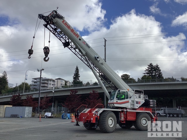 2016 Link-Belt 100RT 100 ton 4x4x4 Rough Terrain Crane, Rough Terrain Crane