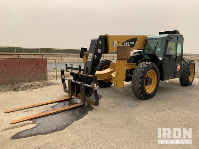2013 Cat TL943C 4x4x4 9000 lb Telehandler, Telescopic Forklift