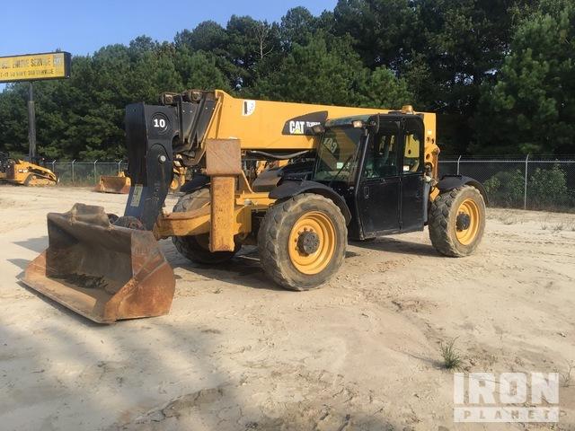 2013 Cat TL1055C 4x4 10000 lb Telehandler, Telescopic Forklift