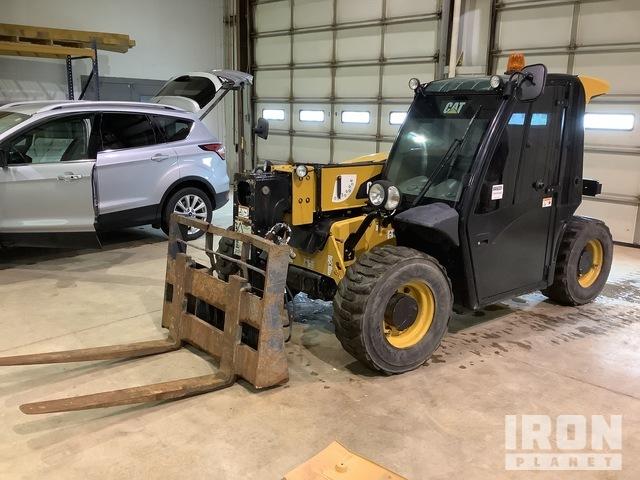 2017 Cat TH255C 4x4 5500 lb Telehandler, Telescopic Forklift