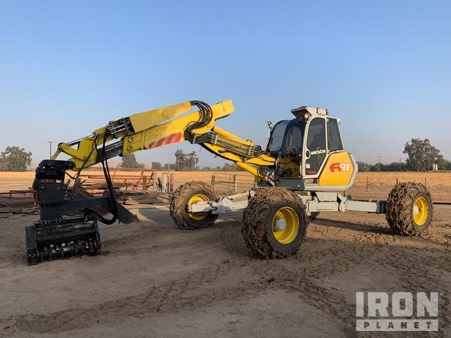 2008 Menzi Muck A91 4x4+ Wheel Excavator, Mobile Excavator