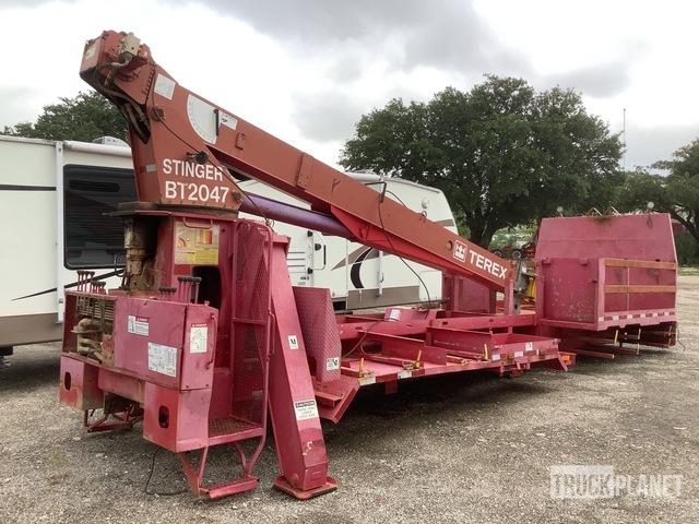 Terex BT2047 Hydraulic 10 Ton Cap Crane, Truck Attachment - Other
