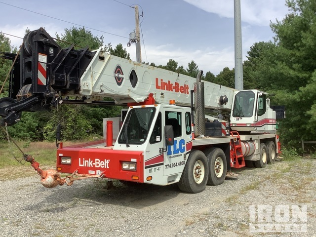 1999 Link-Belt HTC-8670 70 ton 8x4 Twin-Steer Hydraulic Truck Crane, Hydraulic Truck Crane