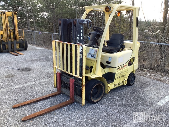 Hyster S40FTM Cushion Tire Forklift, Forklift