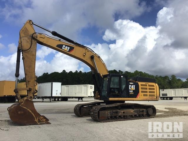 2017 Cat 349FL Track Excavator, Hydraulic Excavator