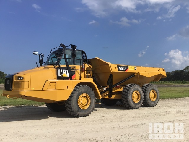 2018 Cat 725C2 6x6 Articulated Dump Truck, Articulated Dump Truck