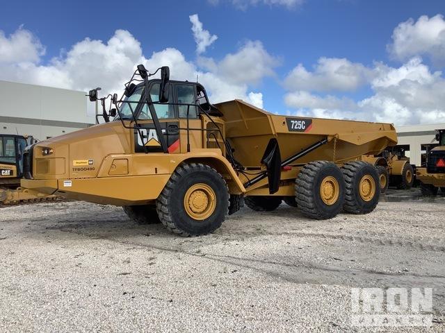 2015 Cat 725C 6x6 Articulated Dump Truck, Articulated Dump Truck