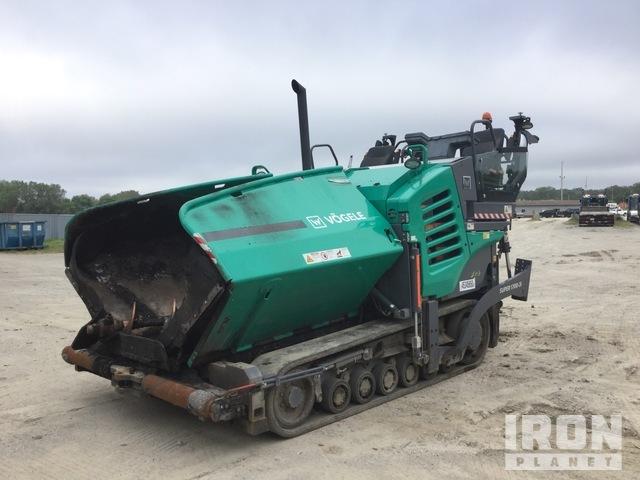 2018 Vogele 1700-3i Track Crawler Asphalt Paver, Asphalt Paver