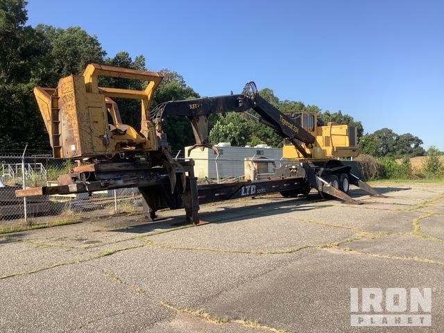 2011 (unverified) Tigercat 234 Trailer Mounted Knuckle Boom Log Loader, Log Loader