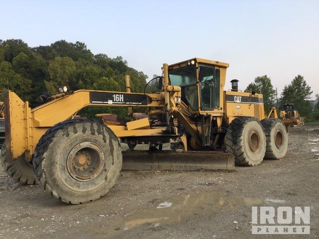 Cat 16H Motor Grader, Motor Grader