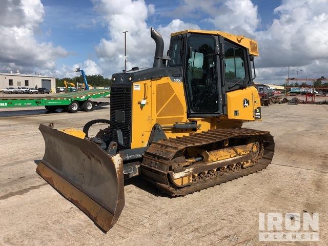 2016 (unverified) John Deere 550K LGP Crawler Dozer, Crawler Tractor