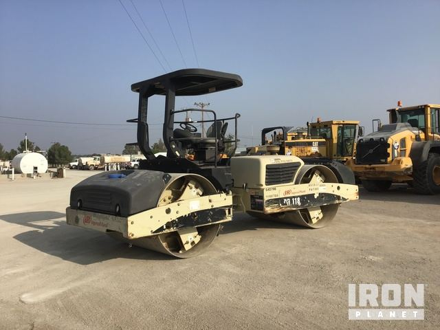 2008 Ingersoll-Rand DD-118HF Vibratory Double Drum Roller, Roller