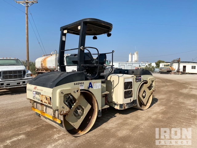 2007 Ingersoll-Rand DD70HF Vibratory Double Drum Roller, Roller