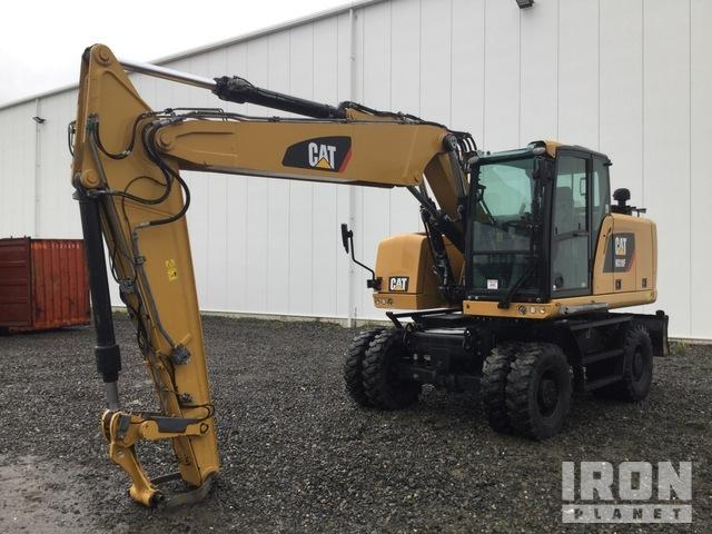 2017 Cat M318F Wheel Excavator, Mobile Excavator